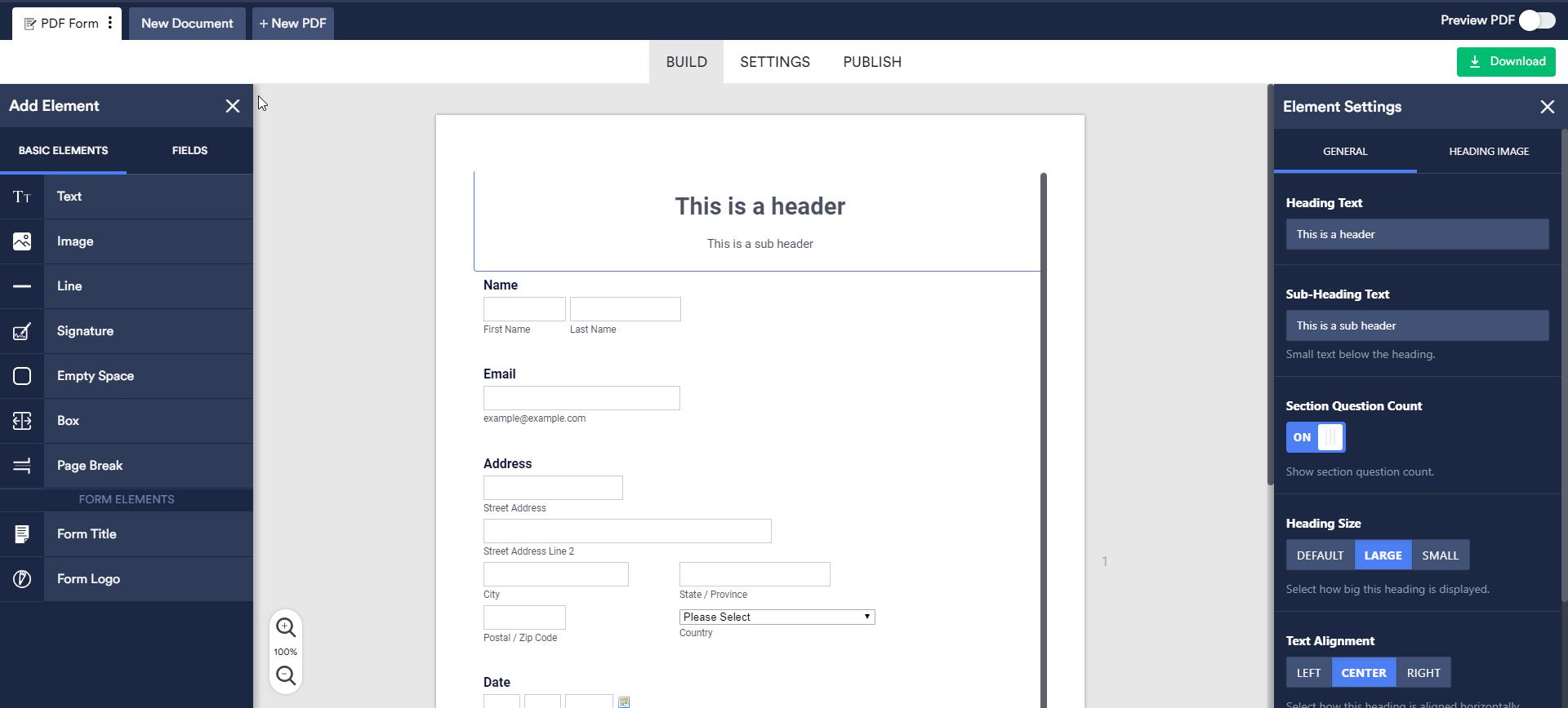 How to Create a PDF Form