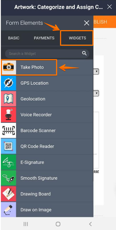 How to Take a Photo and Upload It to JotForm Mobile Forms