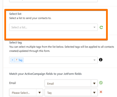 Active Campaign Integration: Tags not being added to contacts