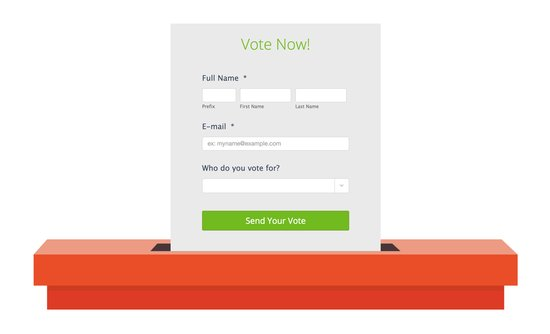 Voting form