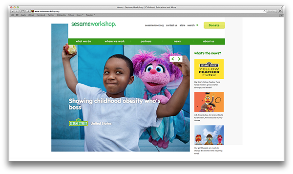 Sesame Workshop Nonprofit