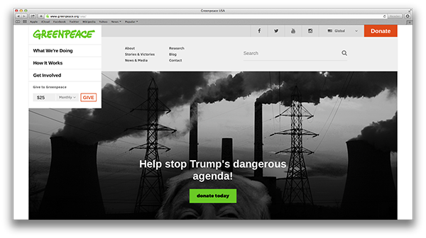 Greenpeace Nonprofit