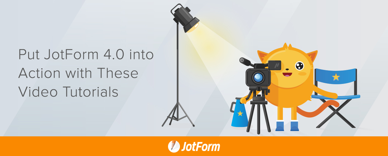 video tutorials for jotform 4.0