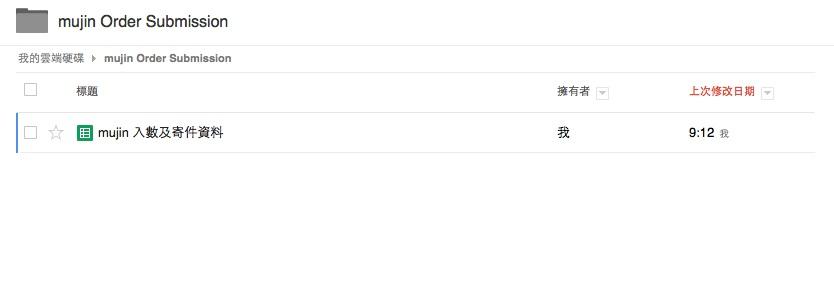 My Google drvie status