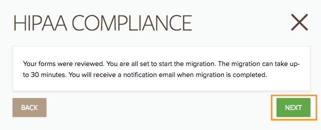 Migrate Your Forms to HIPAA