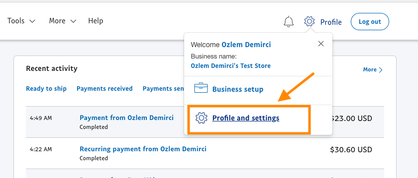 How To Enable IPN On Your Paypal Account JotForm - Invoice asap paypal